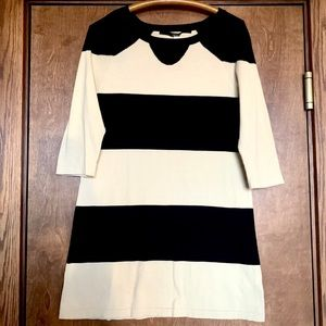Kensie cotton sweater dress